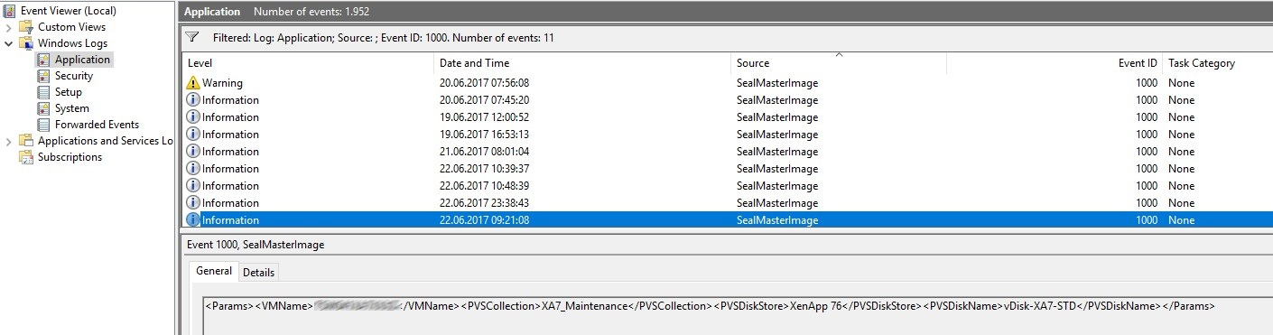 Citrix PVS Sealing Automation - a little bit more