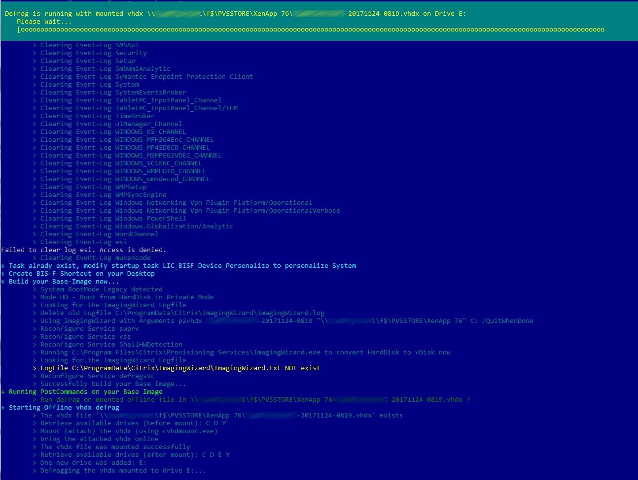 Offline Defragmentation - EUCweb com | focused on Citrix and