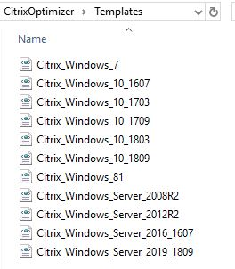HOW TO] Using Citrix Optimizer with Multiple Templates - EUCweb com